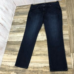 Lucky Brand Ginger Straight Jeans Size 18w